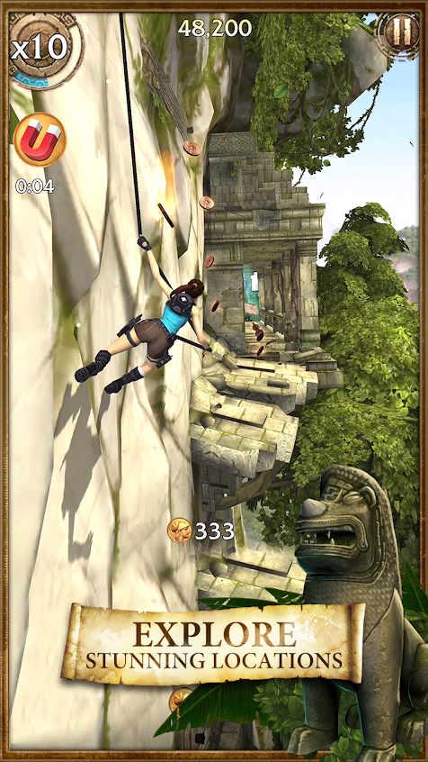Lara Croft: Relic Run Mod Apk