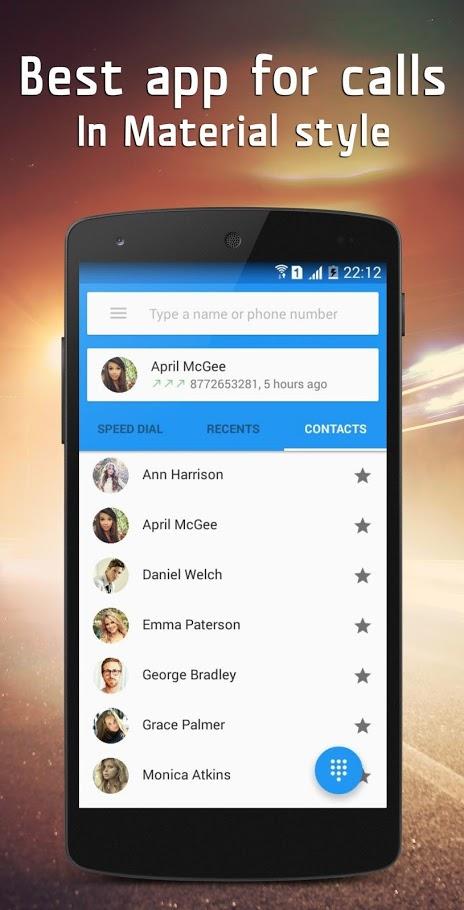 Material Dialer - Phone Apk