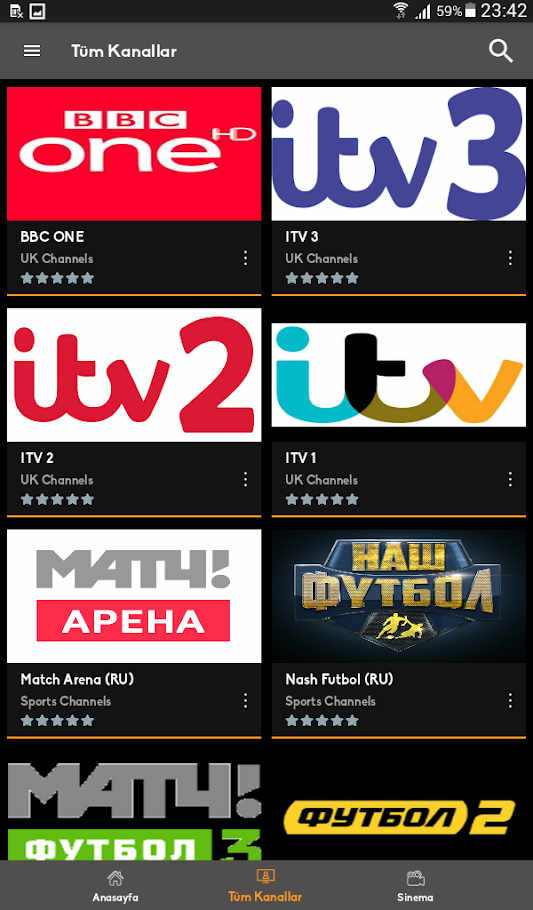 Mobil Android TV Apk