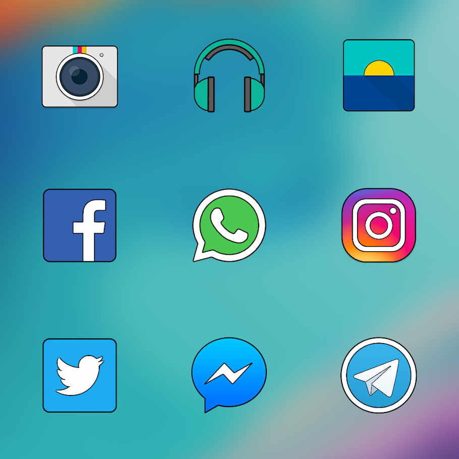 OXYGEN ICON PACK Apk