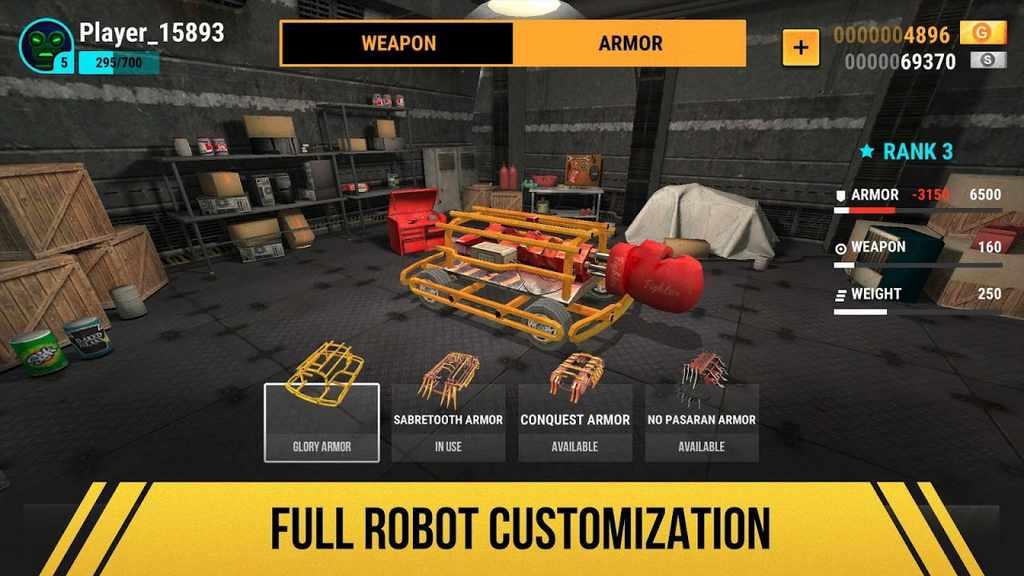 Robot Fighting 2 - Minibots 3D Mod Apk