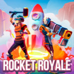 Rocket Royale Mod Apk Download v1.3.2 Free Shopping