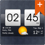 Sense Flip Clock & Weather Pro Apk v4.95.06 Paid