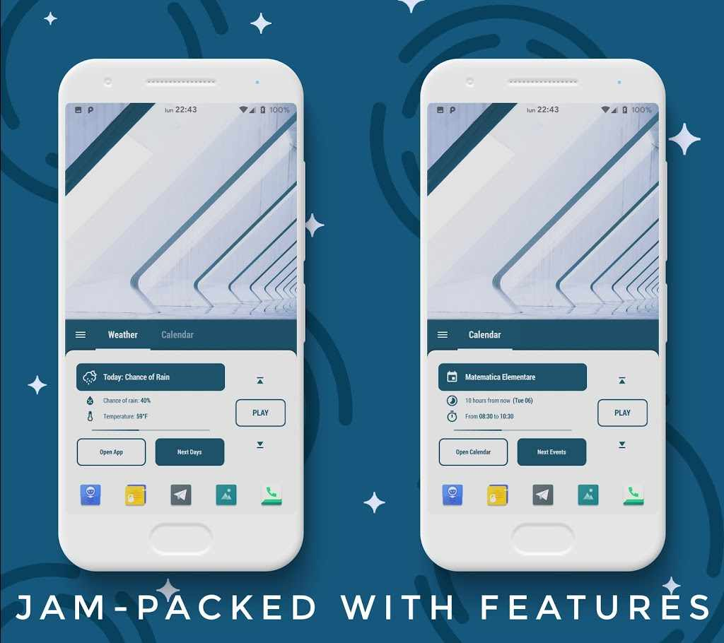 Sidereus KLWP Collection Apk