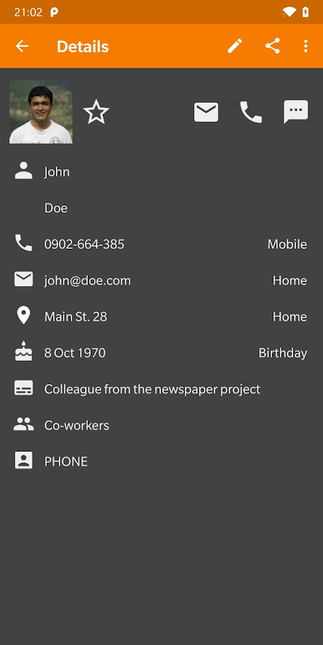 Simple Contacts Pro Apk