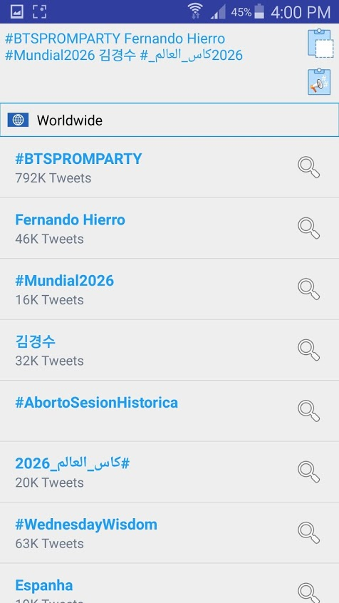 Trends Hub for Twitter Apk