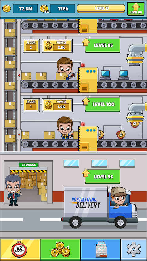 Idle Box Tycoon - Incremental Factory Game Mod