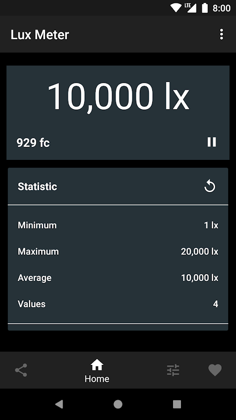 Lux Light Meter Apk