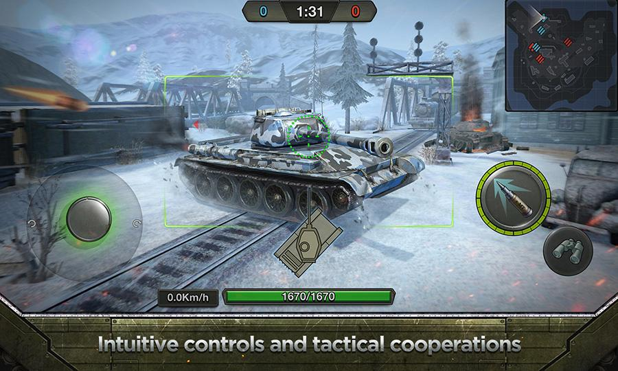 Tank Combat: Team Force Apk