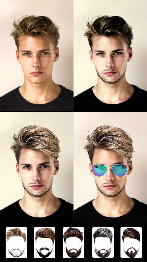 Beard Photo Editor - Hairstyle Apk