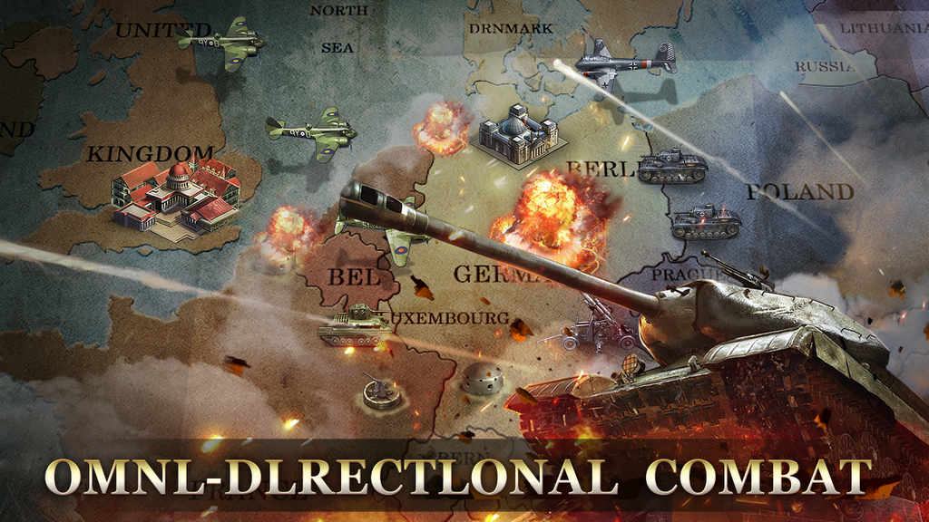 WW2: Strategy Commander Conquer Frontline Mod Apk