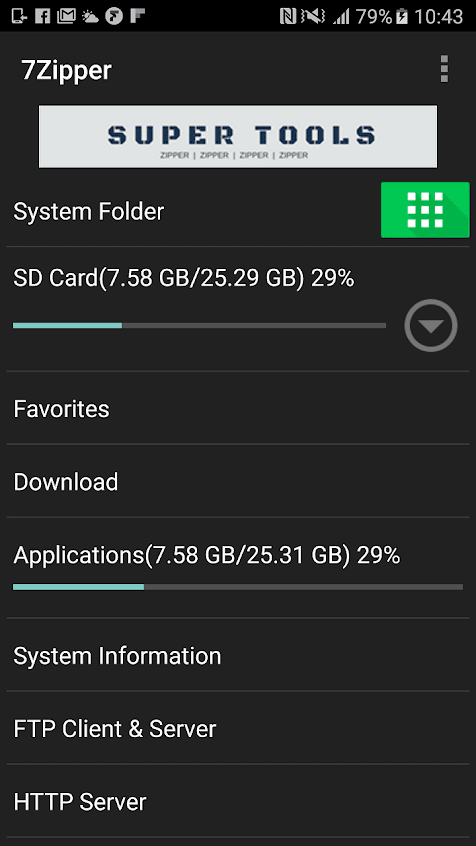 7Zipper - File Explorer Apk