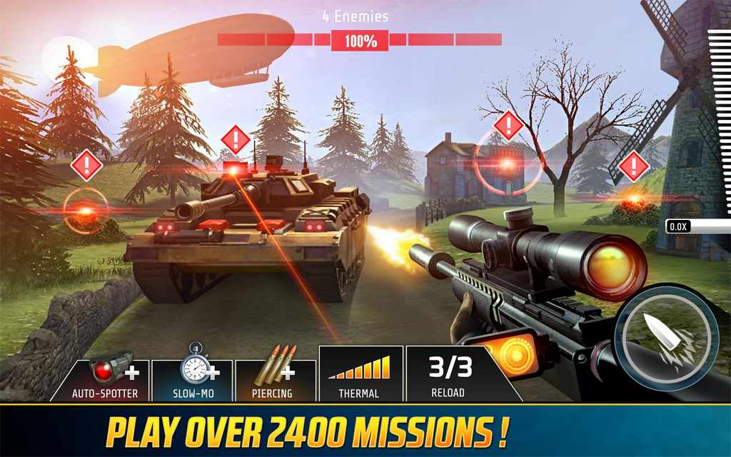 Kill Shot Bravo: Sniper FPS Mod Apk