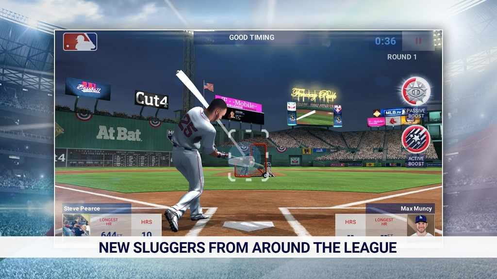 MLB Home Run Derby 18 Mod Apk