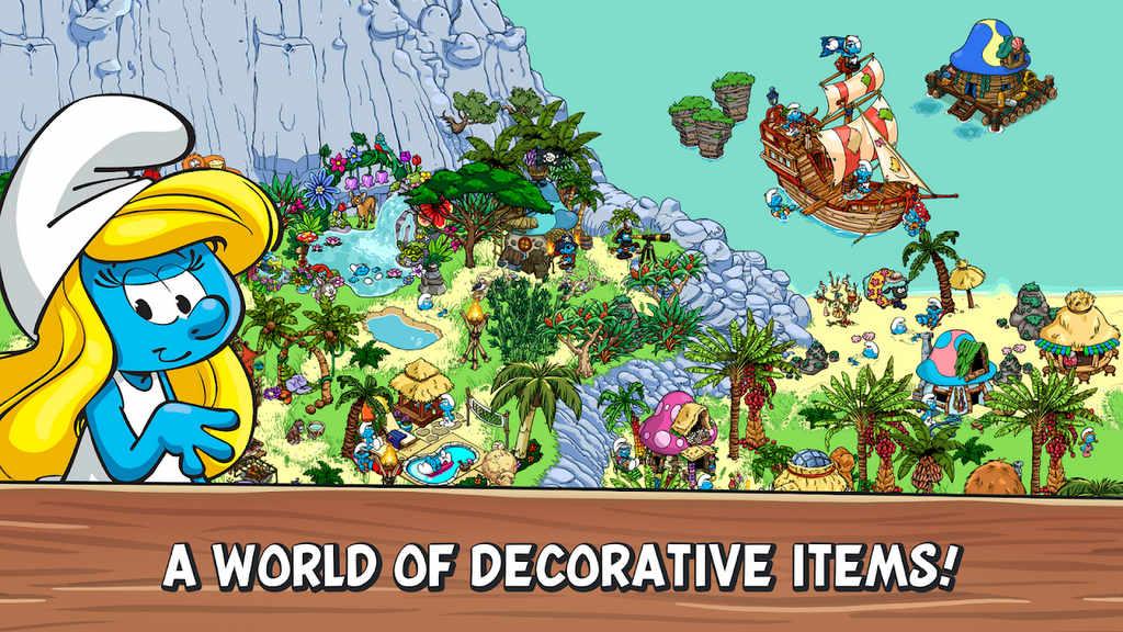 Smurfs' Village Mod Apk