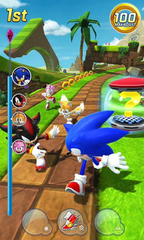 Sonic Forces Mod Apk