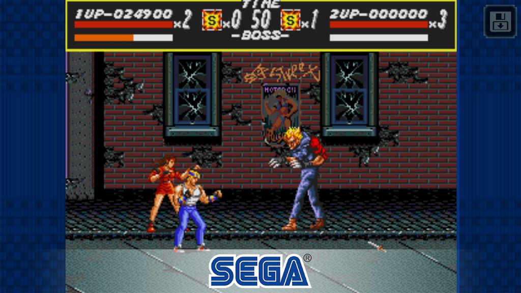Streets of Rage Classic Mod Apk