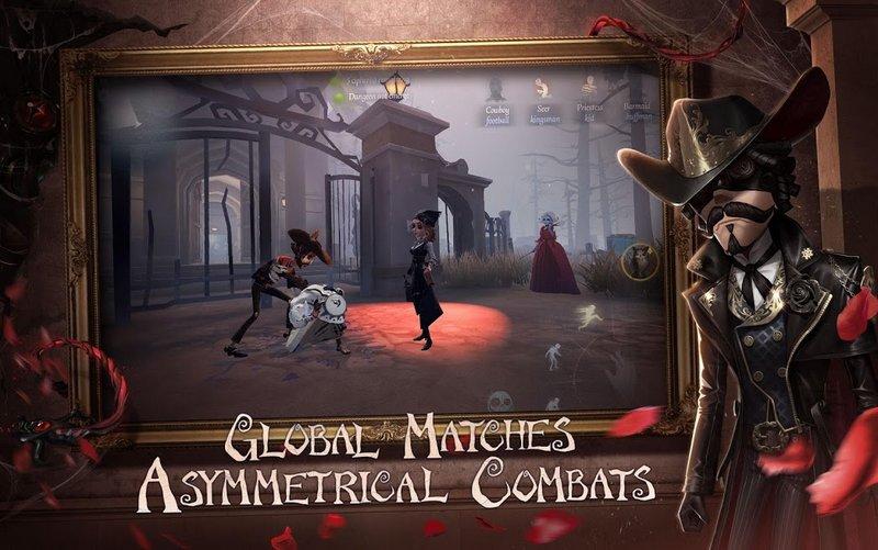 Identity V-1 vs 4 Asymmetrical Combats
