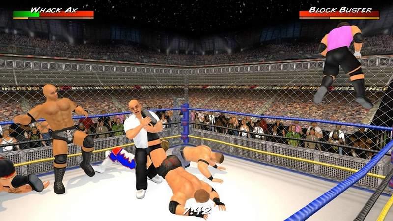 Wrestling Revolution Mod Apk