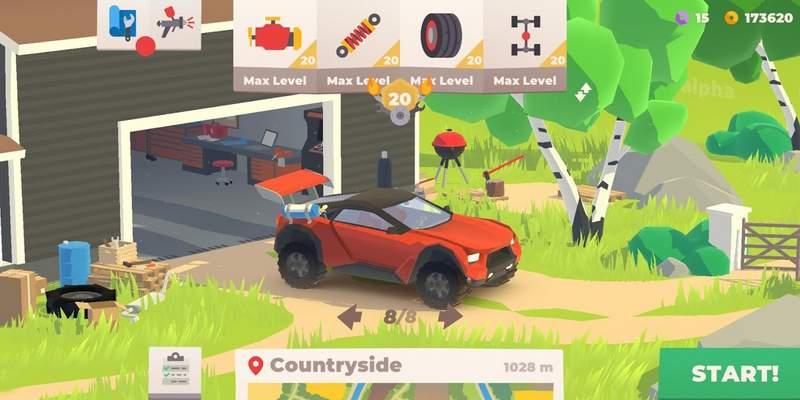 Hillside Drive – Hill Climb Mod Apk