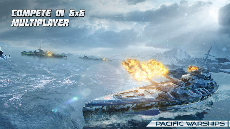 Pacific Warships Mod Apk